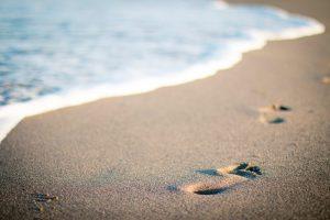 beach sand footprints pine lodge resort conference centre