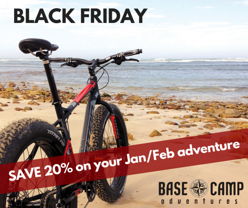 Base Camp Adventures SAVE 20% this Black Friday