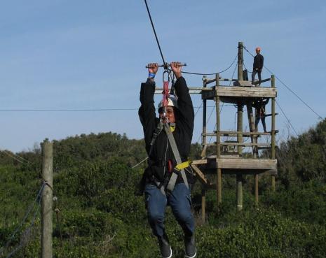 Pine Lodge zip-lines